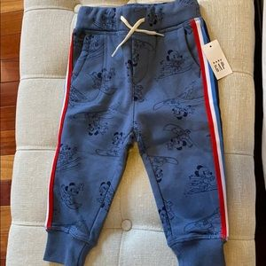 NWT Baby Gap Mickey Mouse sweatpants